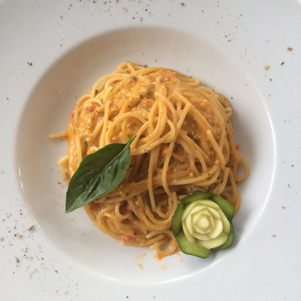 "Photo of La Zagara  by <a href=""/members/profile/shannonkaplan13"">shannonkaplan13</a> <br/>spaghetti with vegan pesto! <br/> June 8, 2015  - <a href='/contact/abuse/image/59206/105134'>Report</a>"