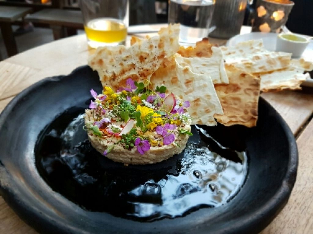 """Photo of Plant Food and Wine  by <a href=""""/members/profile/Khaled"""">Khaled</a> <br/>Amazing Smoked Hummus.  <br/> March 27, 2016  - <a href='/contact/abuse/image/59229/141482'>Report</a>"""