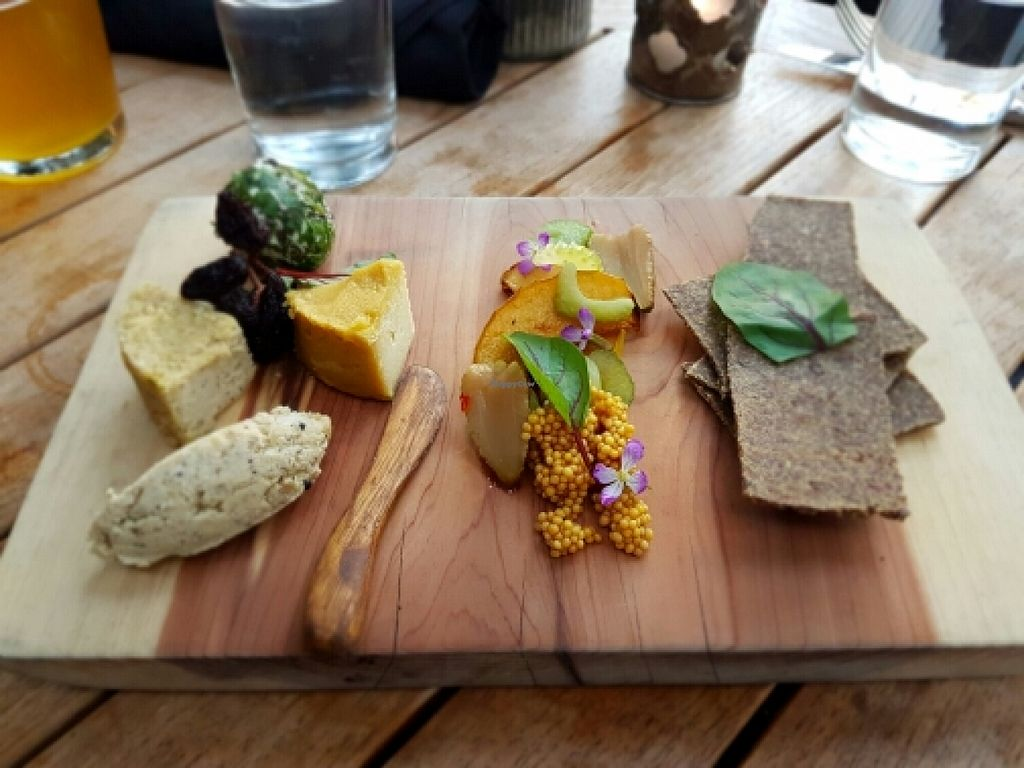 """Photo of Plant Food and Wine  by <a href=""""/members/profile/Khaled"""">Khaled</a> <br/>Vegan Cheese Plate  <br/> March 27, 2016  - <a href='/contact/abuse/image/59229/141483'>Report</a>"""