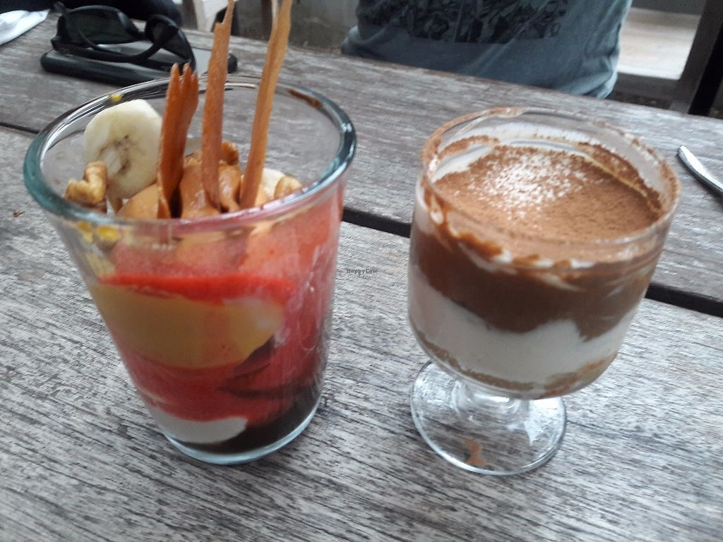 """Photo of Plant Food and Wine  by <a href=""""/members/profile/Sonja%20and%20Dirk"""">Sonja and Dirk</a> <br/>parfait and tiramisu <br/> June 18, 2017  - <a href='/contact/abuse/image/59229/270523'>Report</a>"""