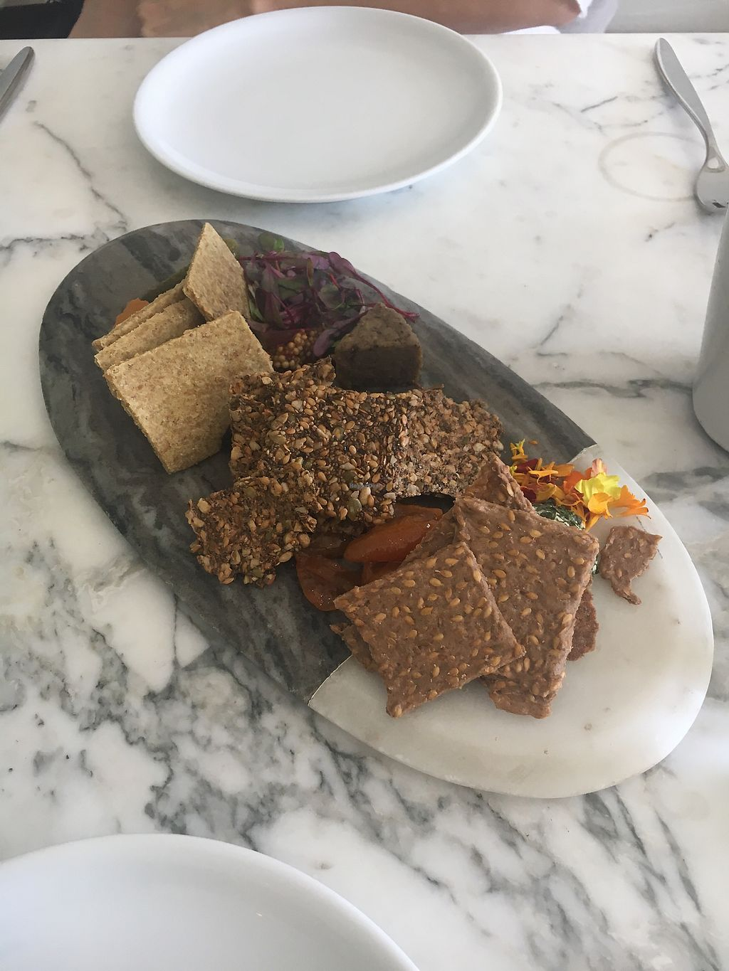 """Photo of Plant Food and Wine  by <a href=""""/members/profile/carolinep"""">carolinep</a> <br/>""""Cheese"""" Board <br/> January 27, 2018  - <a href='/contact/abuse/image/59229/351294'>Report</a>"""