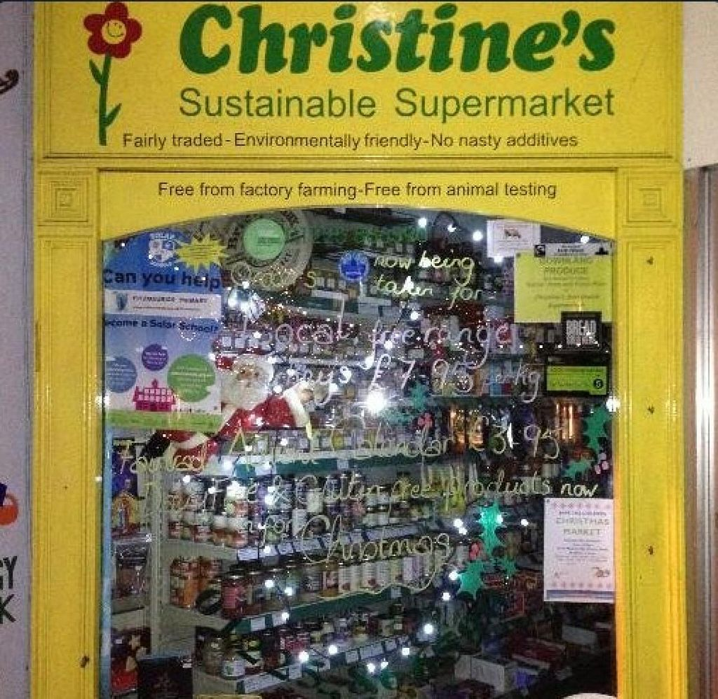 """Photo of Christine's Sustainable Supermarket  by <a href=""""/members/profile/community"""">community</a> <br/>Christine's Sustainable Supermarket <br/> June 8, 2015  - <a href='/contact/abuse/image/59232/105154'>Report</a>"""
