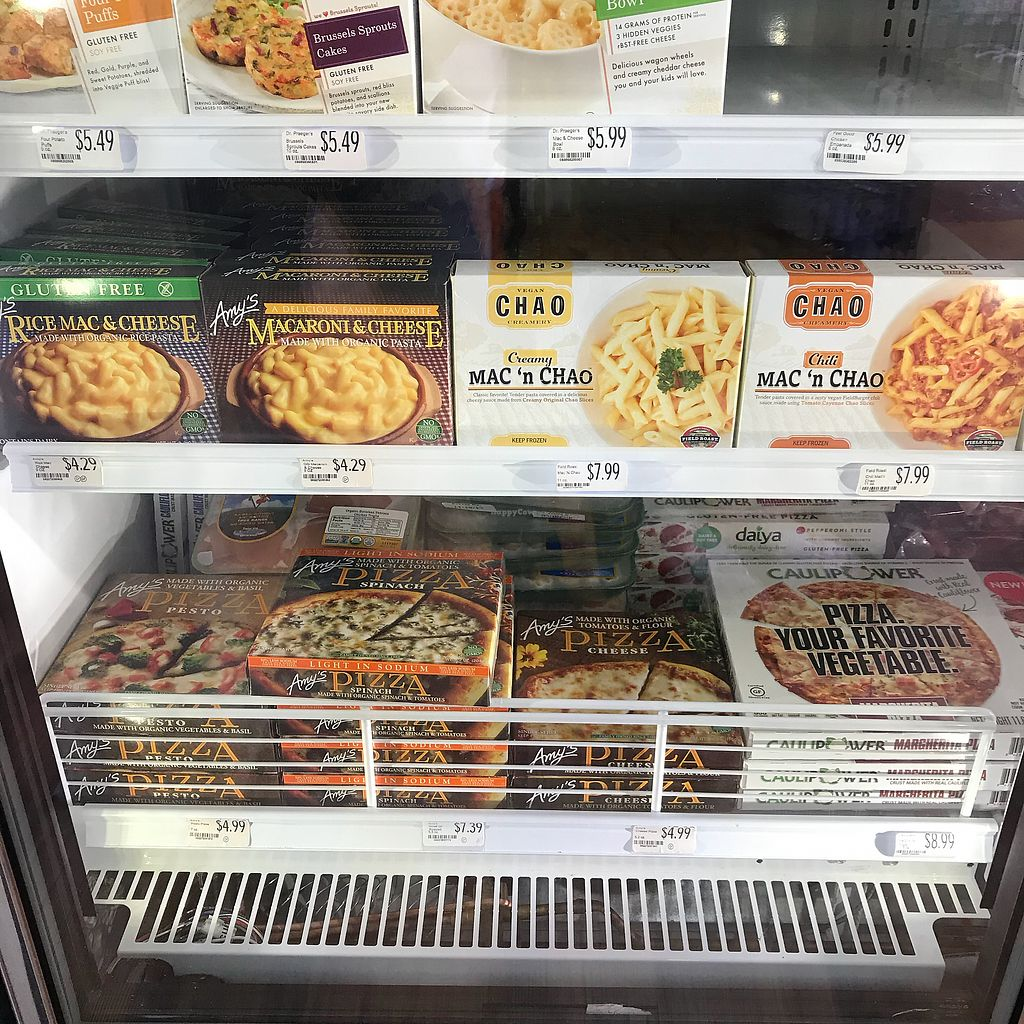 "Photo of Organic Market  by <a href=""/members/profile/Sarah%20P"">Sarah P</a> <br/>Vegan frozen dinners <br/> November 19, 2017  - <a href='/contact/abuse/image/5923/327324'>Report</a>"
