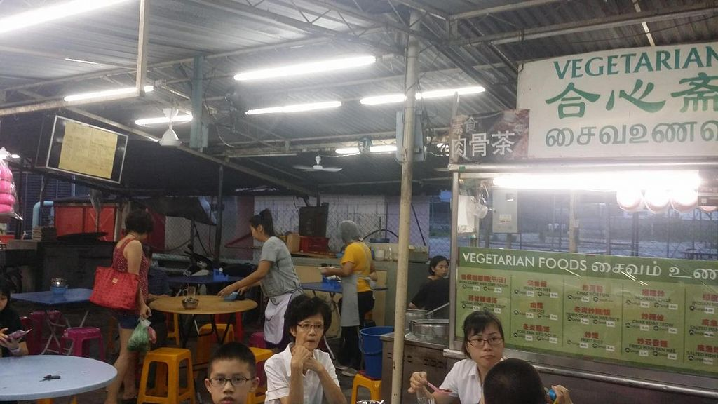 "Photo of He Xin Zhai Vegetarian Stall  by <a href=""/members/profile/walter007"">walter007</a> <br/>Stall <br/> June 10, 2015  - <a href='/contact/abuse/image/59250/105265'>Report</a>"