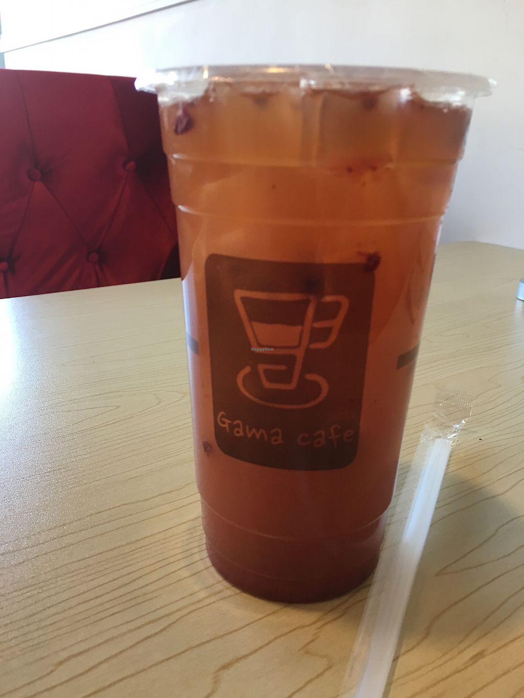"""Photo of Gama Cafe  by <a href=""""/members/profile/loopyandlumpy"""">loopyandlumpy</a> <br/>Strawberry Lemonade  <br/> January 18, 2018  - <a href='/contact/abuse/image/59270/348084'>Report</a>"""