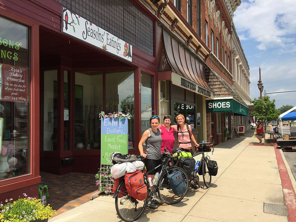 "Photo of Seasons' Eatings  by <a href=""/members/profile/seasonseatingsllc"">seasonseatingsllc</a> <br/>recent visitor biking across country! <br/> July 5, 2017  - <a href='/contact/abuse/image/59273/276797'>Report</a>"