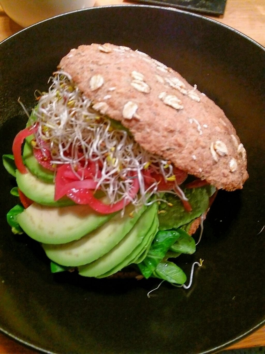 """Photo of simpleRAW  by <a href=""""/members/profile/Smoelfine"""">Smoelfine</a> <br/>avocado burger <br/> January 11, 2017  - <a href='/contact/abuse/image/59290/210711'>Report</a>"""