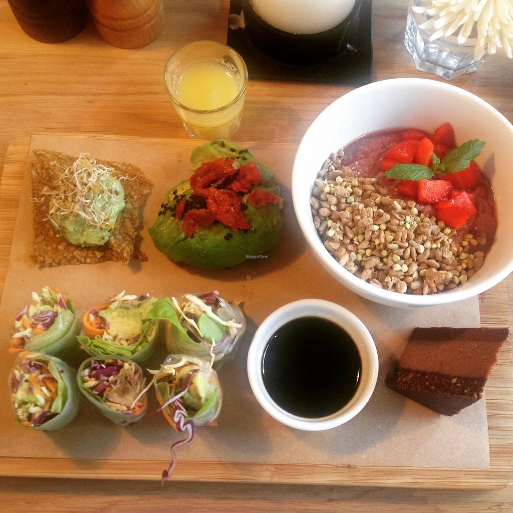 """Photo of simpleRAW  by <a href=""""/members/profile/o0Carolyn0o"""">o0Carolyn0o</a> <br/>The brunch plate with ginger shot <br/> August 3, 2017  - <a href='/contact/abuse/image/59290/288368'>Report</a>"""