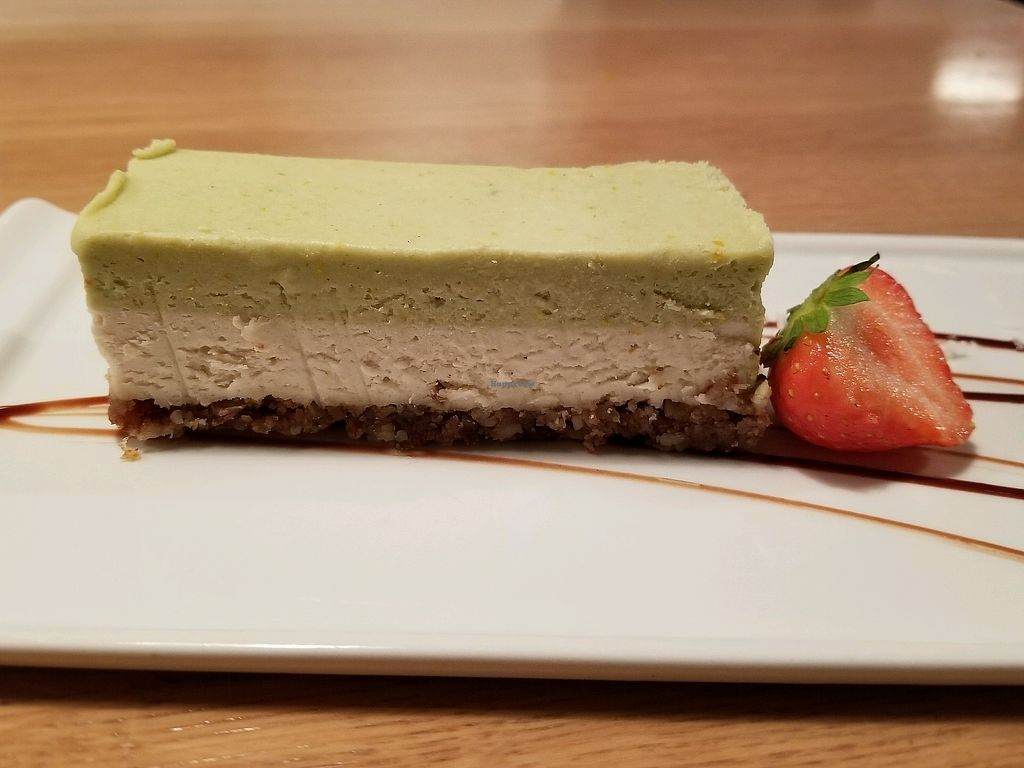"""Photo of simpleRAW  by <a href=""""/members/profile/kenvegan"""">kenvegan</a> <br/>Lemon Vegan Cheesecake <br/> September 18, 2017  - <a href='/contact/abuse/image/59290/305804'>Report</a>"""