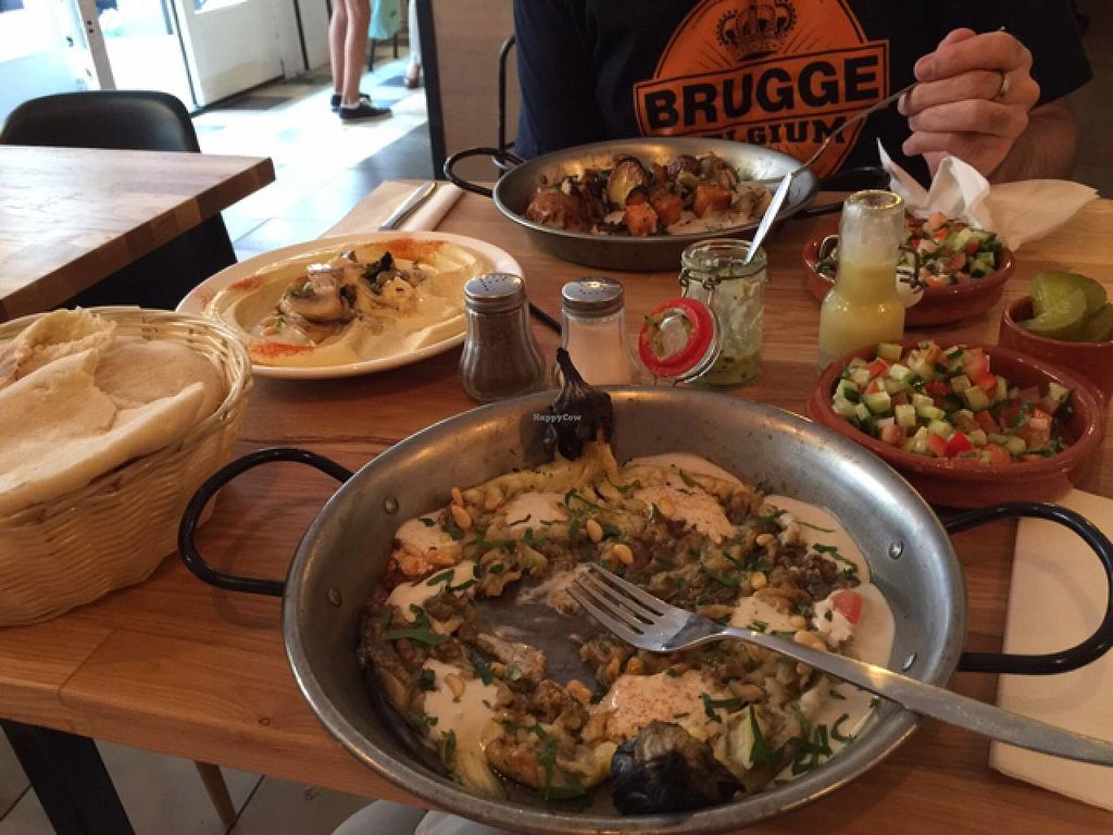 """Photo of De Hummus House - Sint Antoniesbreestraat  by <a href=""""/members/profile/jazzhustler"""">jazzhustler</a> <br/>a small selection <br/> July 20, 2015  - <a href='/contact/abuse/image/59292/110163'>Report</a>"""