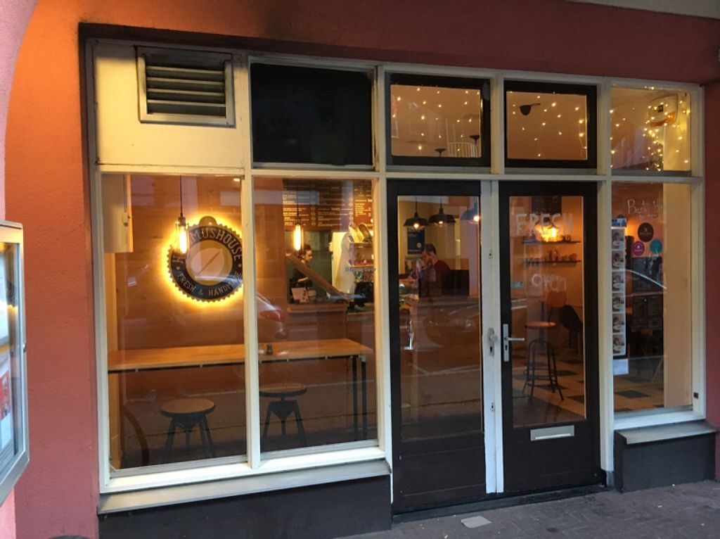 """Photo of De Hummus House - Sint Antoniesbreestraat  by <a href=""""/members/profile/hack_man"""">hack_man</a> <br/>looking in  <br/> December 31, 2015  - <a href='/contact/abuse/image/59292/130486'>Report</a>"""