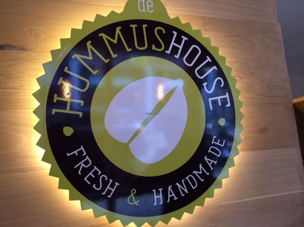 """Photo of De Hummus House - Sint Antoniesbreestraat  by <a href=""""/members/profile/Claremveg"""">Claremveg</a> <br/>logo <br/> March 11, 2016  - <a href='/contact/abuse/image/59292/139574'>Report</a>"""