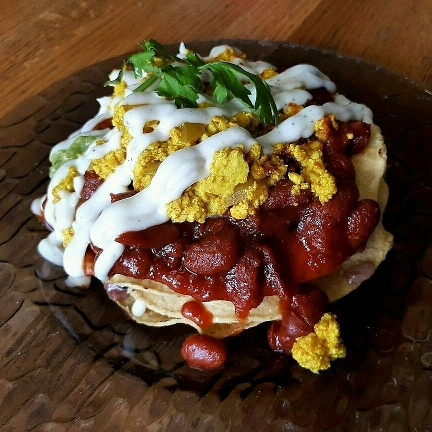 """Photo of REMOVED: D-Beatstro  by <a href=""""/members/profile/Vegan%20GiGi"""">Vegan GiGi</a> <br/>Huevos rancheros at D-Beatstro Sunday brunch!  <br/> August 30, 2017  - <a href='/contact/abuse/image/59326/299088'>Report</a>"""