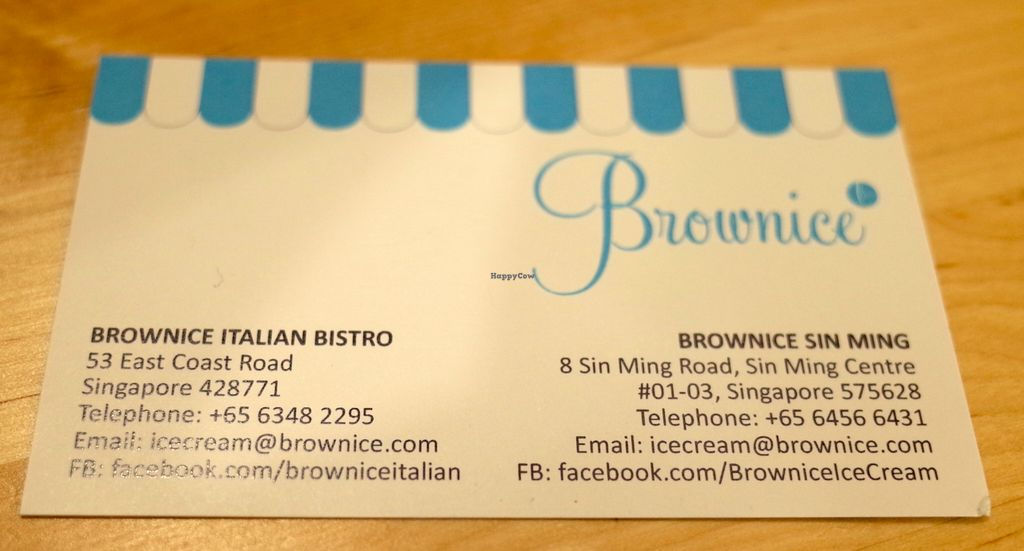 "Photo of Brownice Italian Bistro  by <a href=""/members/profile/ouikouik"">ouikouik</a> <br/>brownice italian bistro - namecard <br/> October 2, 2015  - <a href='/contact/abuse/image/59333/119800'>Report</a>"