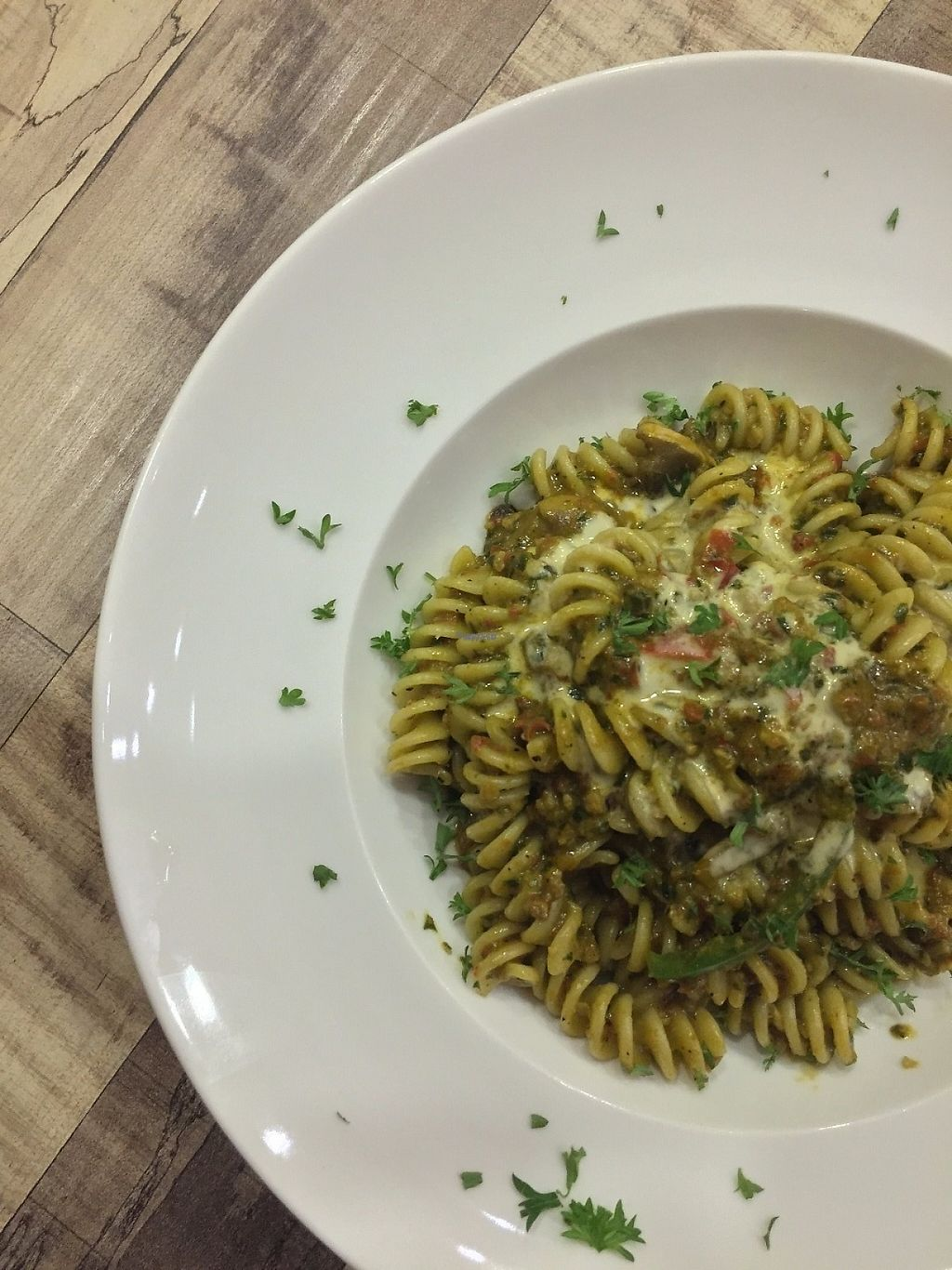 "Photo of Brownice Italian Bistro  by <a href=""/members/profile/caitjoy"">caitjoy</a> <br/>Vegan pesto pasta <br/> April 9, 2017  - <a href='/contact/abuse/image/59333/246309'>Report</a>"