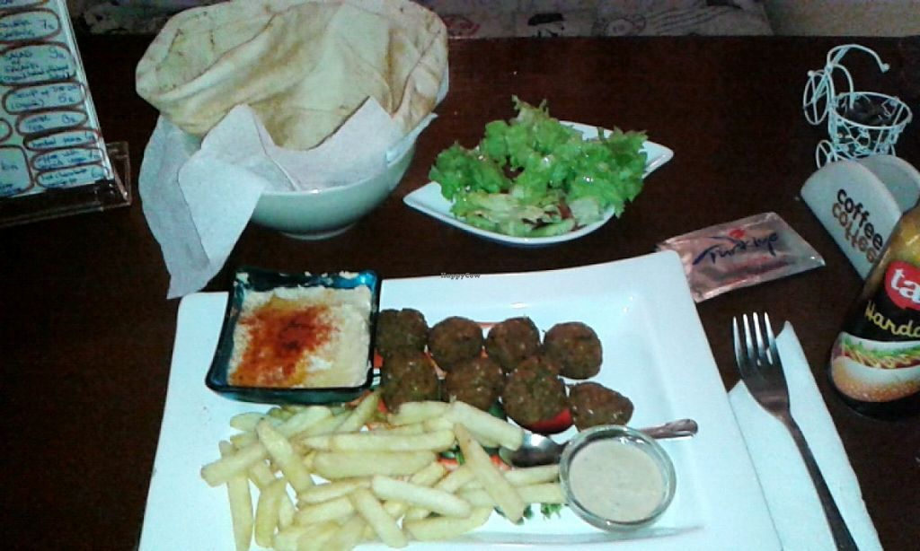 """Photo of Falafel Zone  by <a href=""""/members/profile/MajaBizjak"""">MajaBizjak</a> <br/>Classic menu with fries <br/> March 14, 2016  - <a href='/contact/abuse/image/59335/139983'>Report</a>"""