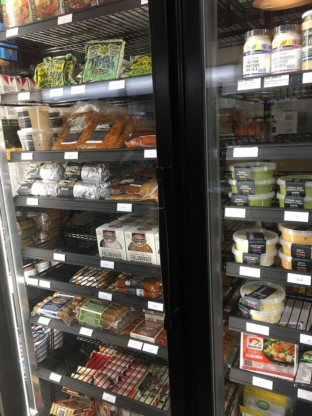 """Photo of Vegan Supply  by <a href=""""/members/profile/vegan%20frog"""">vegan frog</a> <br/>Fresh options <br/> August 7, 2017  - <a href='/contact/abuse/image/59337/289960'>Report</a>"""