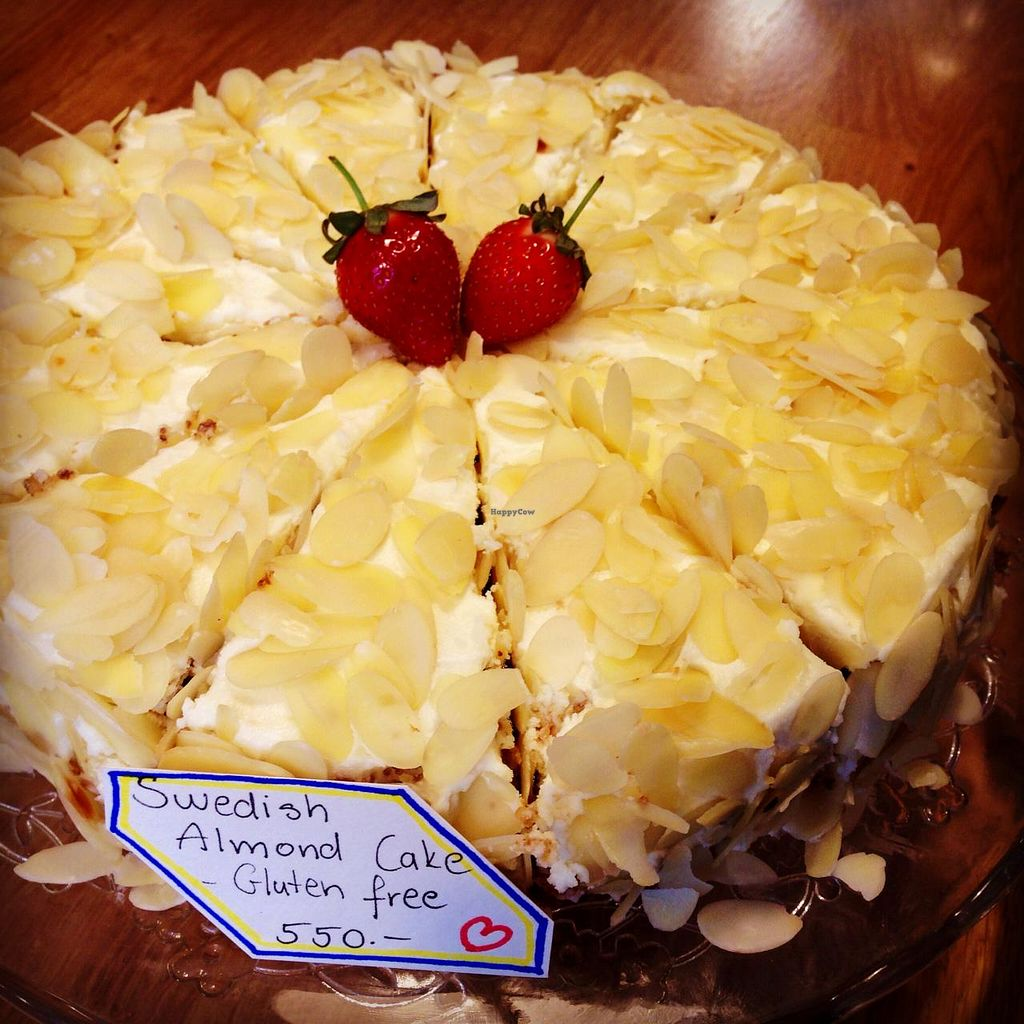 """Photo of The Goat Herder  by <a href=""""/members/profile/CorinneP"""">CorinneP</a> <br/>Swedish almond cake! <br/> June 25, 2015  - <a href='/contact/abuse/image/59338/107246'>Report</a>"""