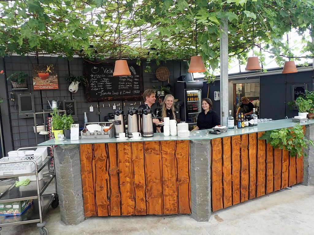 """Photo of Fridheimar  by <a href=""""/members/profile/Solaron"""">Solaron</a> <br/>Drinks bar in the greenhouse. Unique recipes, non-alcoholic and including spirits.  <br/> June 14, 2015  - <a href='/contact/abuse/image/59378/105930'>Report</a>"""