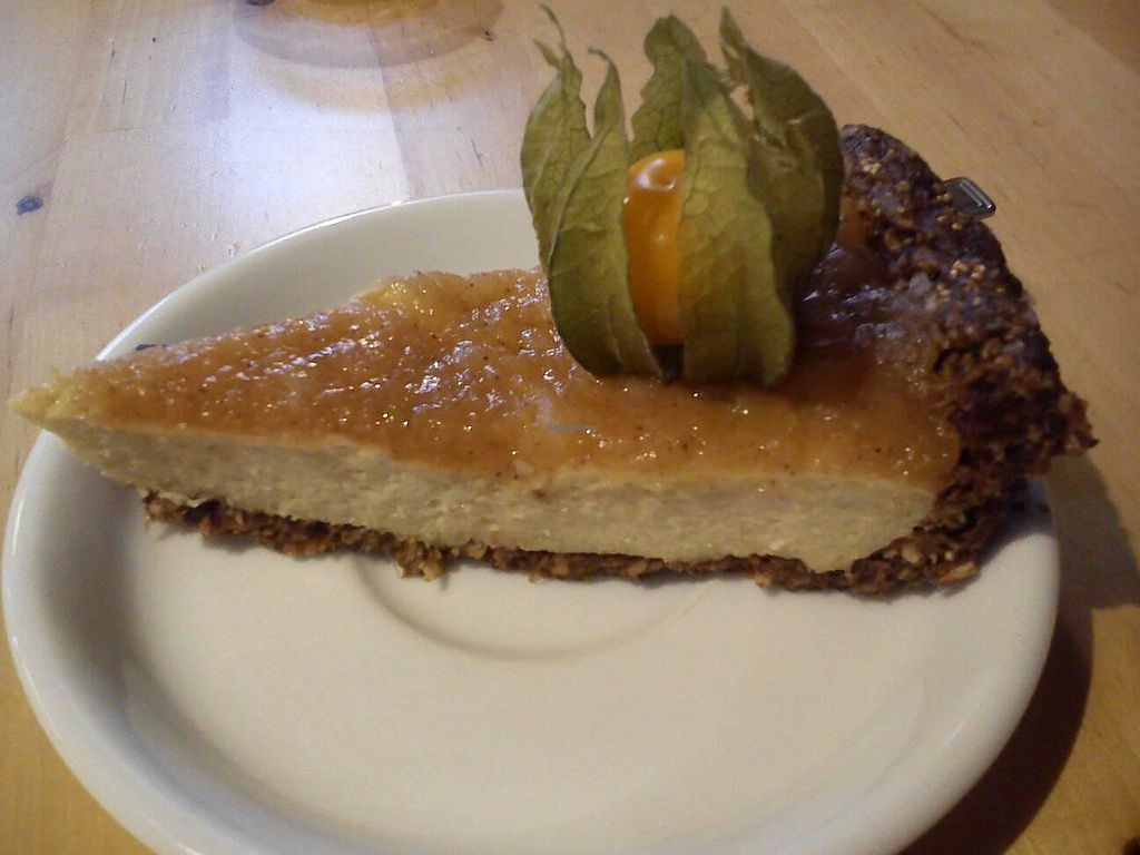 "Photo of Ahimsa Vegan Restaurant and Club  by <a href=""/members/profile/FernandoMoreira"">FernandoMoreira</a> <br/>apple cake <br/> November 19, 2017  - <a href='/contact/abuse/image/59379/326911'>Report</a>"