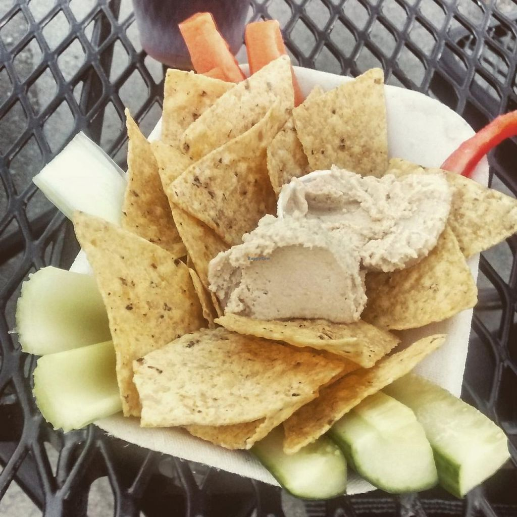 """Photo of Heartwood by the Sea  by <a href=""""/members/profile/QuothTheRaven"""">QuothTheRaven</a> <br/>Hummus platter <br/> July 4, 2015  - <a href='/contact/abuse/image/59382/108112'>Report</a>"""