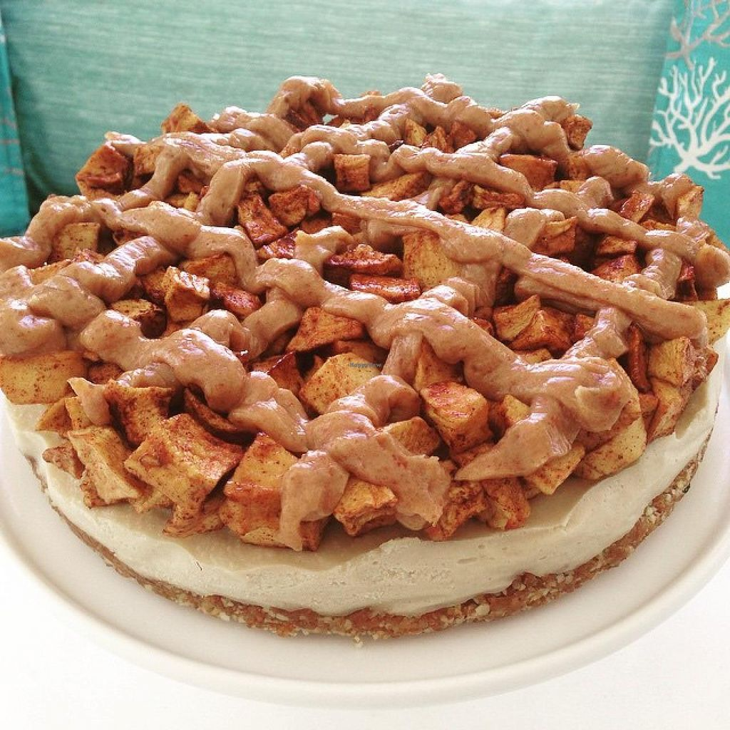 """Photo of Joga  by <a href=""""/members/profile/JogaSxm"""">JogaSxm</a> <br/>Raw Vegan Dutch Apple Pie <br/> June 13, 2015  - <a href='/contact/abuse/image/59384/105784'>Report</a>"""