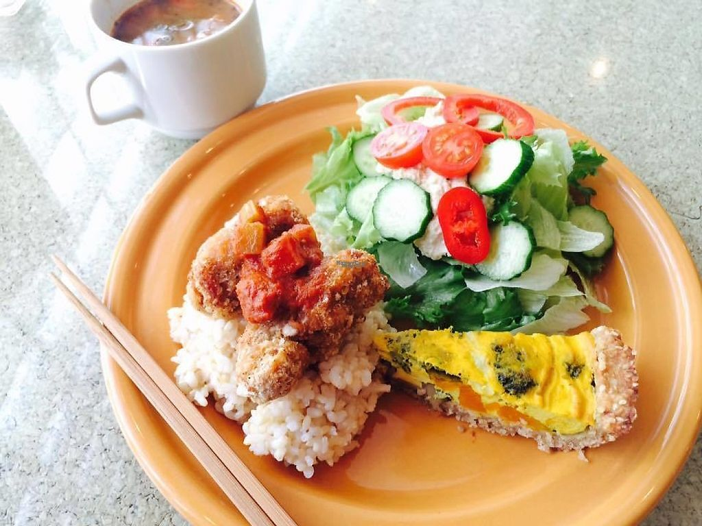 """Photo of DevaDeva Cafe  by <a href=""""/members/profile/veg_tokyo"""">veg_tokyo</a> <br/>Deli plate <br/> March 4, 2017  - <a href='/contact/abuse/image/5939/232395'>Report</a>"""