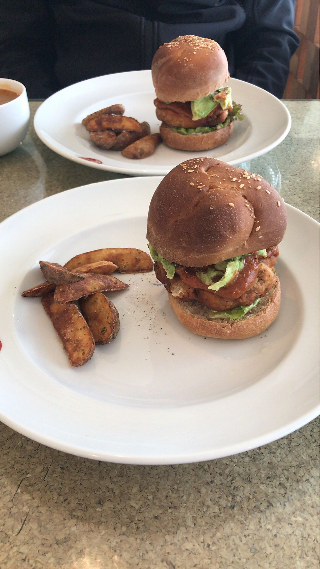 """Photo of DevaDeva Cafe  by <a href=""""/members/profile/MelissaW"""">MelissaW</a> <br/>Chicken burger  <br/> January 30, 2018  - <a href='/contact/abuse/image/5939/352698'>Report</a>"""