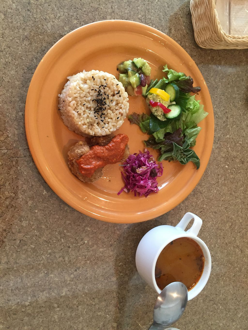 """Photo of DevaDeva Cafe  by <a href=""""/members/profile/iokan"""">iokan</a> <br/>Daily special / set menu. Weekend edition <br/> April 30, 2018  - <a href='/contact/abuse/image/5939/393058'>Report</a>"""