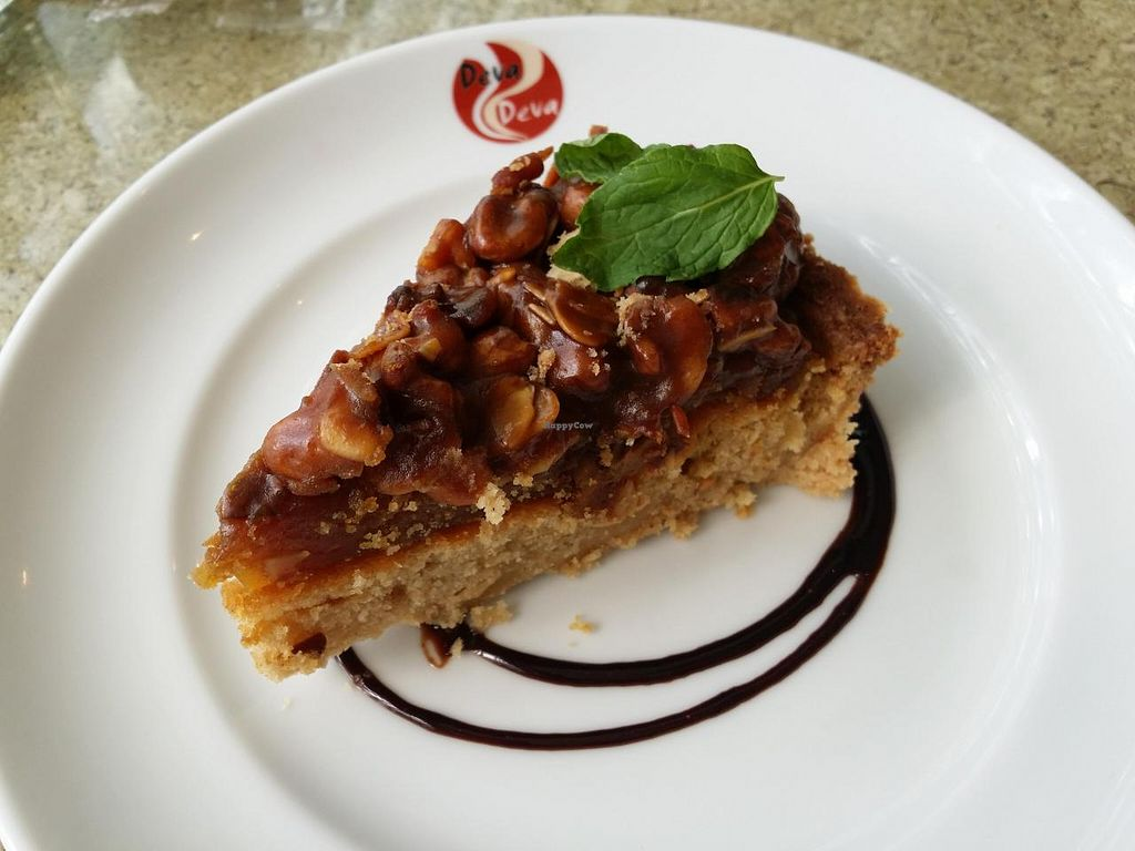"""Photo of DevaDeva Cafe  by <a href=""""/members/profile/poopixie"""">poopixie</a> <br/>nut tart <br/> May 4, 2014  - <a href='/contact/abuse/image/5939/69316'>Report</a>"""