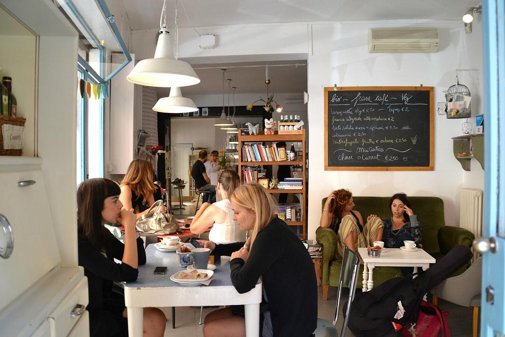 """Photo of Fram Cafe  by <a href=""""/members/profile/Fram%20BistroBioVeg"""">Fram BistroBioVeg</a> <br/>friendly vegan lunch & dinner <br/> June 15, 2015  - <a href='/contact/abuse/image/59450/106054'>Report</a>"""