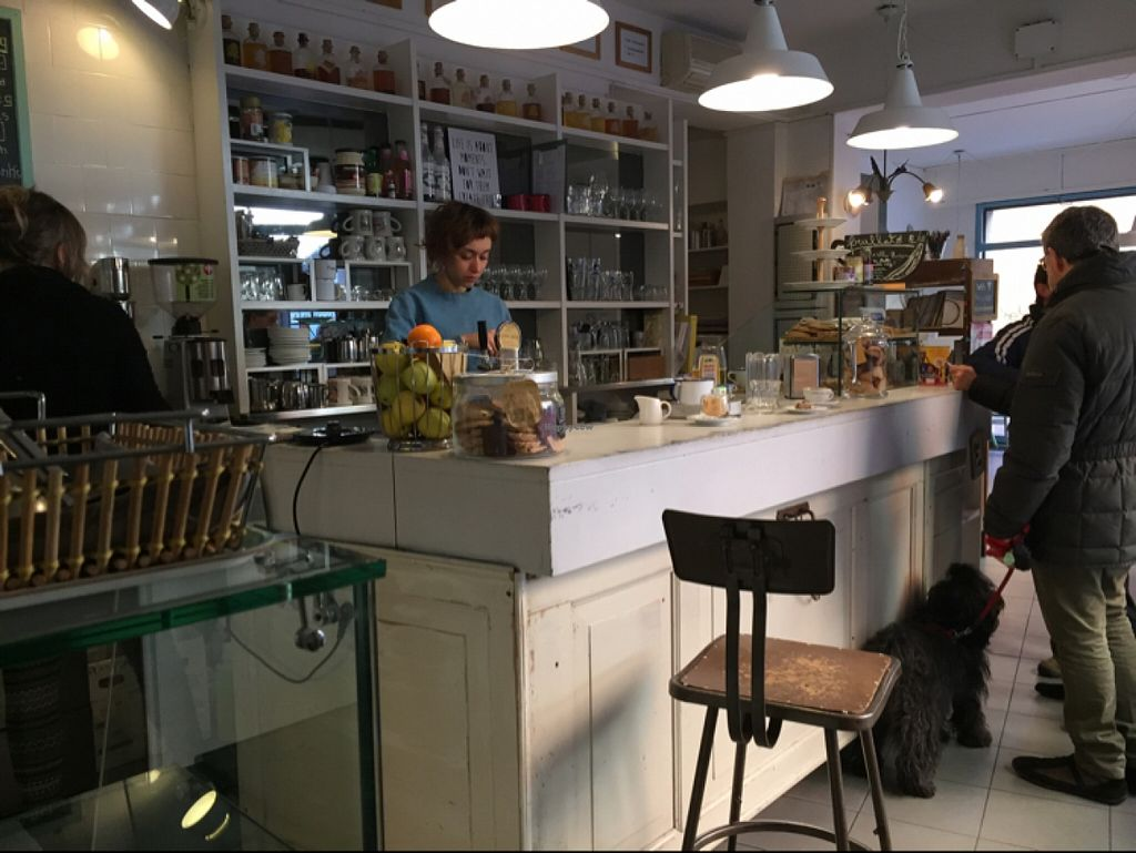 """Photo of Fram Cafe  by <a href=""""/members/profile/Alessandro"""">Alessandro</a> <br/>wide selection of vegan pastries <br/> January 2, 2016  - <a href='/contact/abuse/image/59450/130805'>Report</a>"""