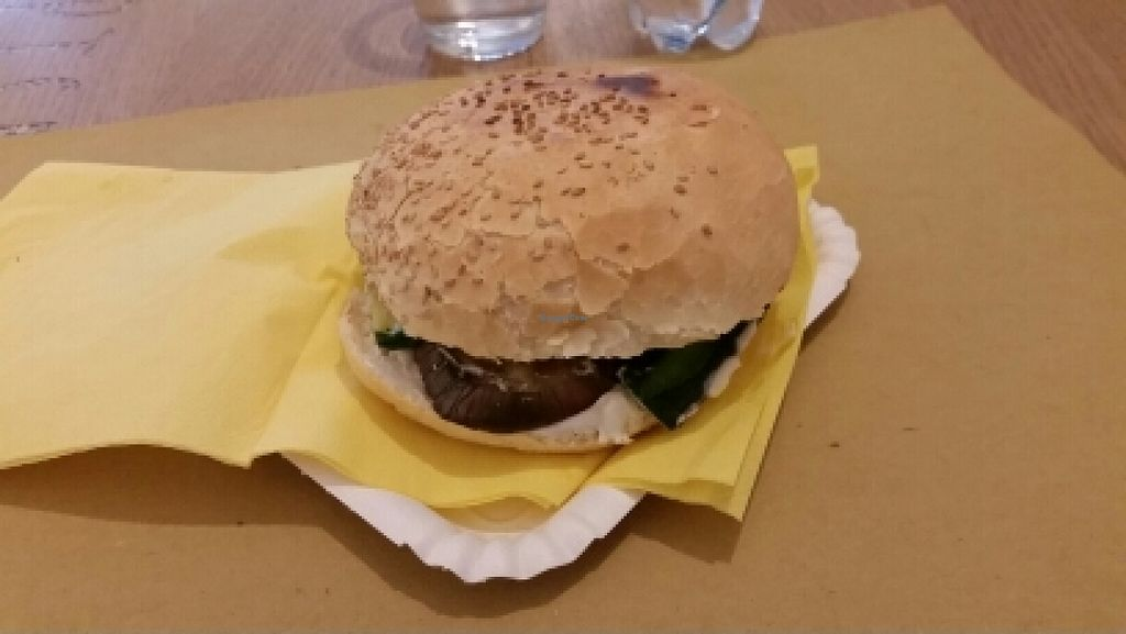 """Photo of Io Veg  by <a href=""""/members/profile/autosblindo"""">autosblindo</a> <br/>lupini burger <br/> April 15, 2016  - <a href='/contact/abuse/image/59479/144661'>Report</a>"""