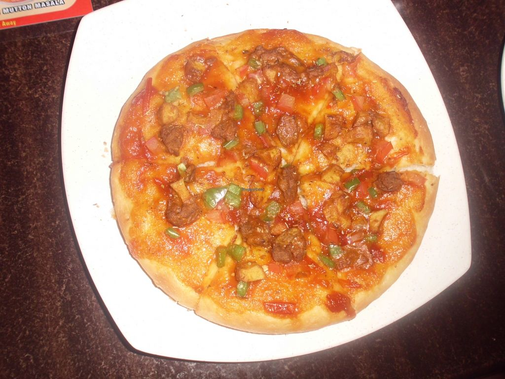 """Photo of Vishnu's Pizza Food Truck  by <a href=""""/members/profile/Maros"""">Maros</a> <br/>Vegan pizza :) <br/> March 5, 2016  - <a href='/contact/abuse/image/59481/138897'>Report</a>"""