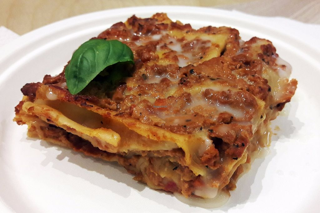 "Photo of Universo Vegano  by <a href=""/members/profile/OdeliaCohen"">OdeliaCohen</a> <br/>Lasagne <br/> July 3, 2016  - <a href='/contact/abuse/image/59505/157538'>Report</a>"