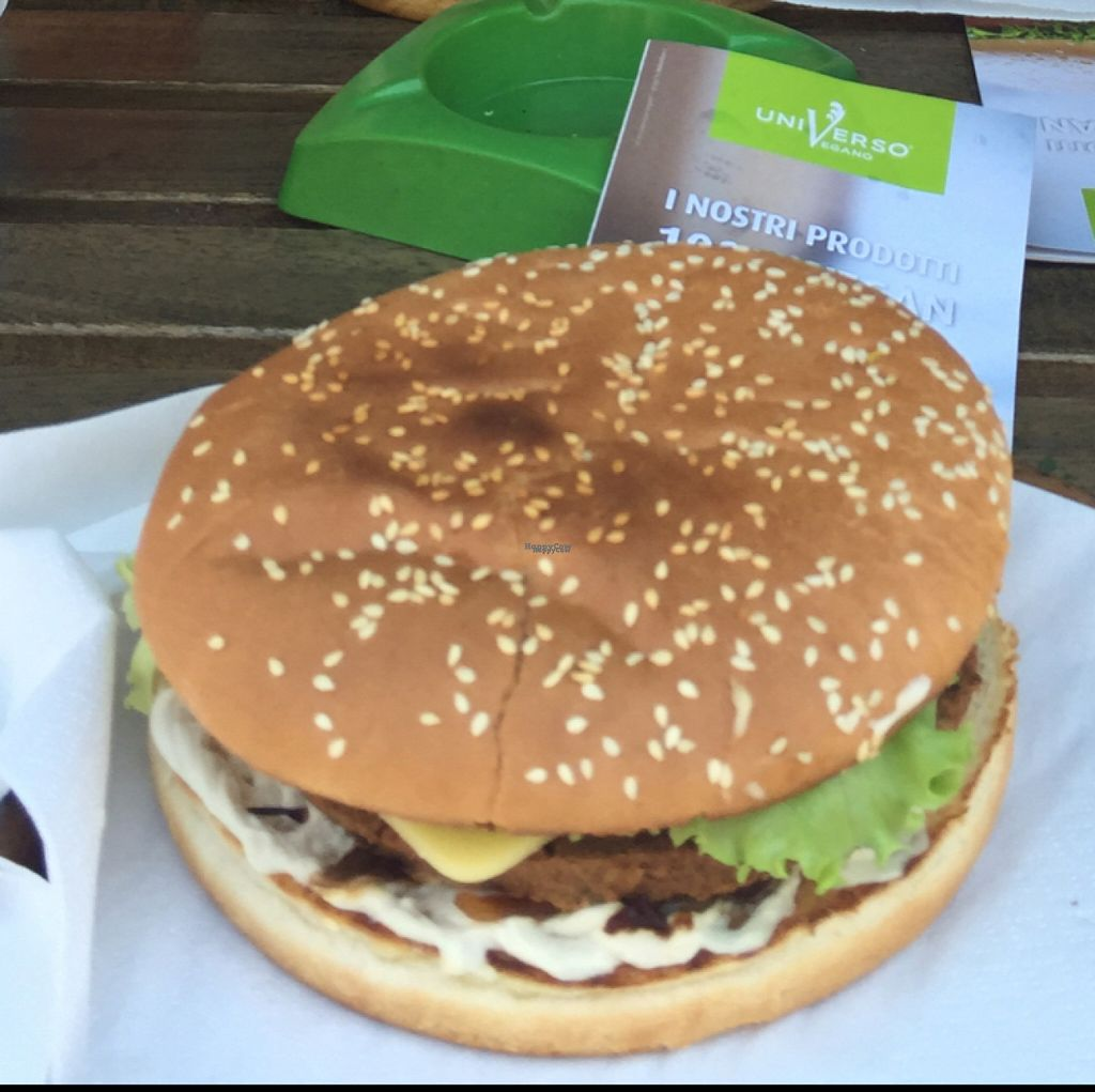 "Photo of Universo Vegano - Solferino  by <a href=""/members/profile/BenSilvaJones"">BenSilvaJones</a> <br/>Bog Smokey Burger <br/> August 5, 2016  - <a href='/contact/abuse/image/59508/165642'>Report</a>"
