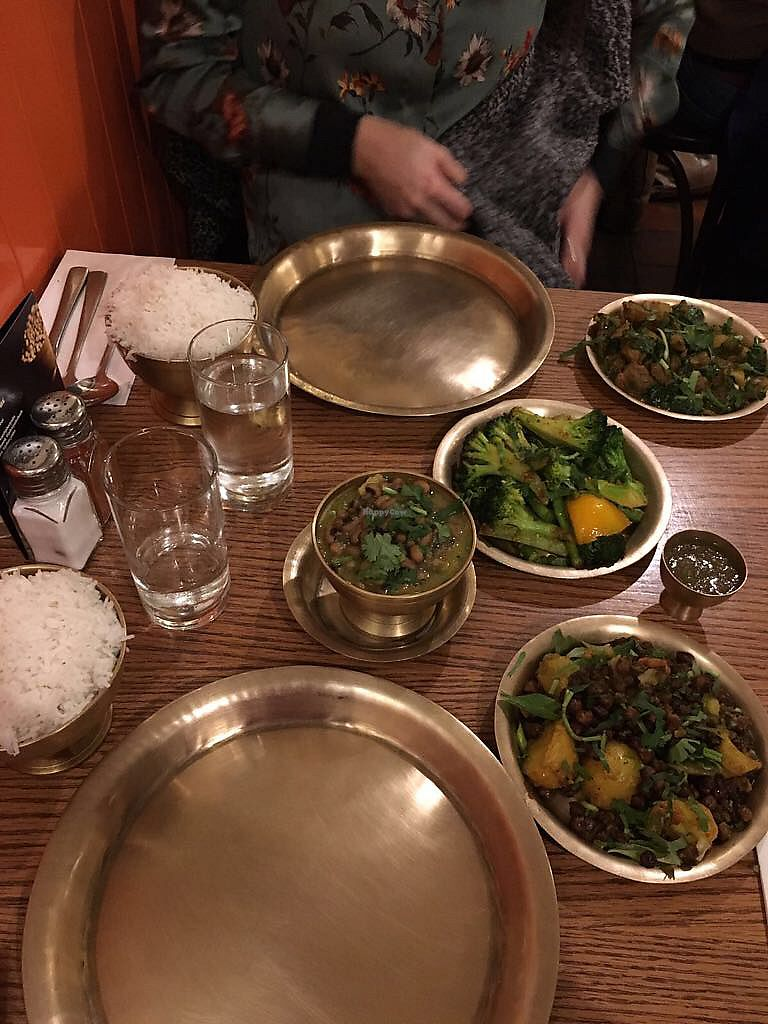 """Photo of Yak Yeti Yak  by <a href=""""/members/profile/clap"""">clap</a> <br/>Rice, legumes and veggies <br/> March 22, 2018  - <a href='/contact/abuse/image/59522/374391'>Report</a>"""