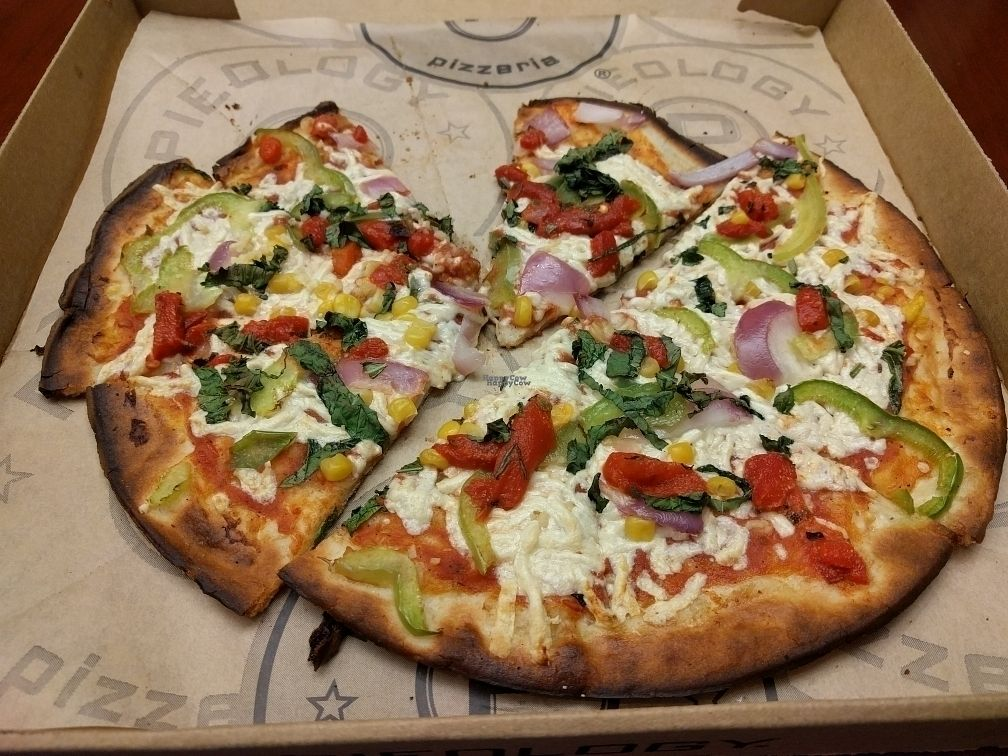 """Photo of Pieology  by <a href=""""/members/profile/JohnGardner"""">JohnGardner</a> <br/>Rustic Vegan <br/> October 5, 2016  - <a href='/contact/abuse/image/59562/179930'>Report</a>"""