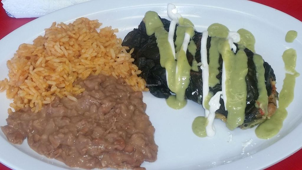 "Photo of Pancho's Kitchen  by <a href=""/members/profile/kenvegan"">kenvegan</a> <br/>vegan tamale <br/> June 17, 2015  - <a href='/contact/abuse/image/59571/106335'>Report</a>"