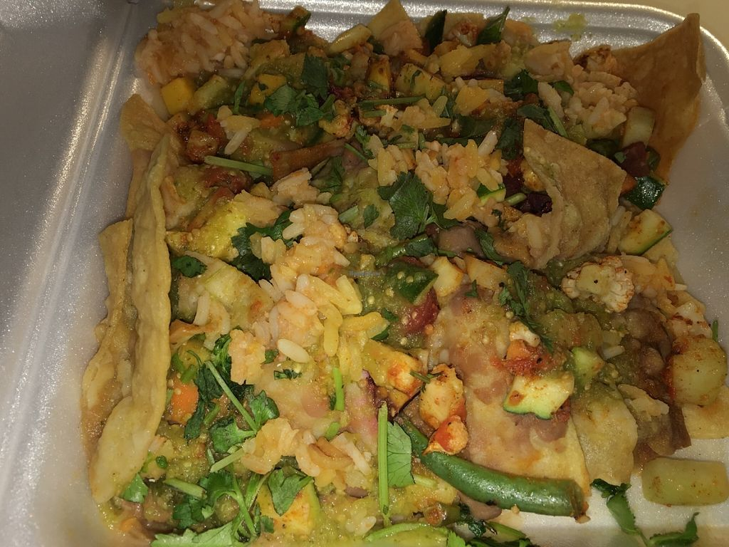 "Photo of Pancho's Kitchen  by <a href=""/members/profile/Tigra220"">Tigra220</a> <br/>veggie nachos <br/> June 4, 2016  - <a href='/contact/abuse/image/59571/152326'>Report</a>"