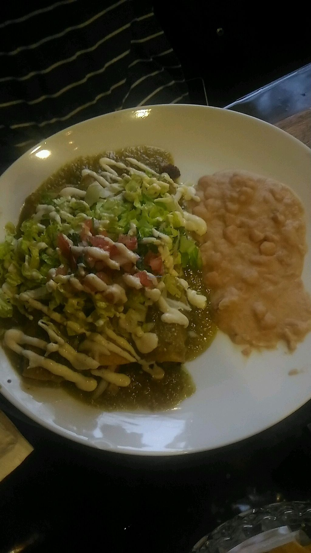 "Photo of Pancho's Kitchen  by <a href=""/members/profile/QuothTheRaven"">QuothTheRaven</a> <br/>vegan enchiladas <br/> March 26, 2018  - <a href='/contact/abuse/image/59571/376548'>Report</a>"