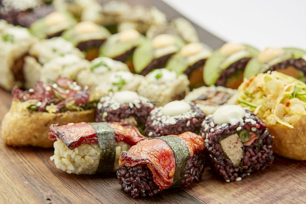 """Photo of CLOSED: Superfood Sushi  by <a href=""""/members/profile/Miss%20Sunshine"""">Miss Sunshine</a> <br/>they do catering as well <br/> September 29, 2015  - <a href='/contact/abuse/image/59593/119581'>Report</a>"""