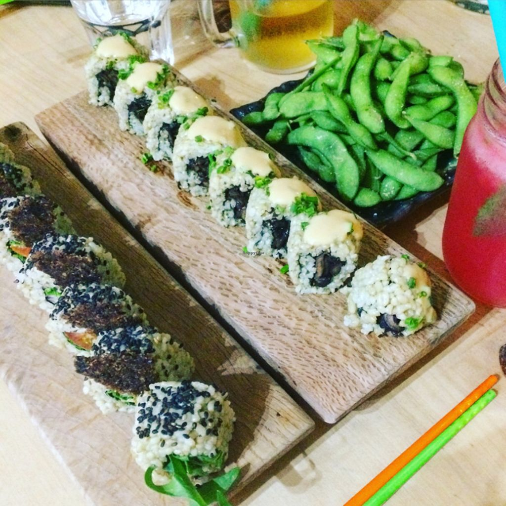 """Photo of CLOSED: Superfood Sushi  by <a href=""""/members/profile/Carla.Rowe23"""">Carla.Rowe23</a> <br/>sushi time <br/> October 28, 2015  - <a href='/contact/abuse/image/59593/123039'>Report</a>"""