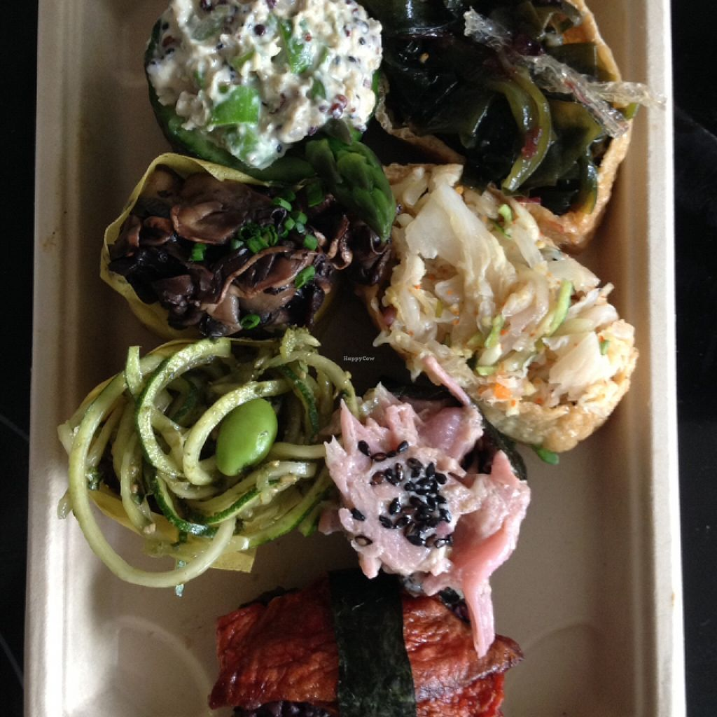 """Photo of CLOSED: Superfood Sushi  by <a href=""""/members/profile/JoeyHoppa"""">JoeyHoppa</a> <br/>So much fun & yum! <br/> November 20, 2015  - <a href='/contact/abuse/image/59593/125657'>Report</a>"""