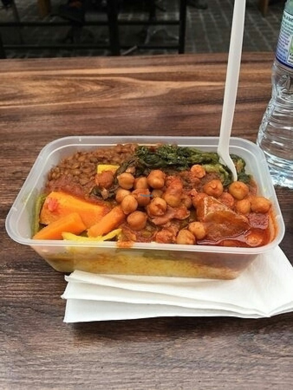"""Photo of Ethiopian Vegetarian Food Stall  by <a href=""""/members/profile/VictorHugoLimachi"""">VictorHugoLimachi</a> <br/>Mixed box  <br/> February 19, 2017  - <a href='/contact/abuse/image/59602/228337'>Report</a>"""