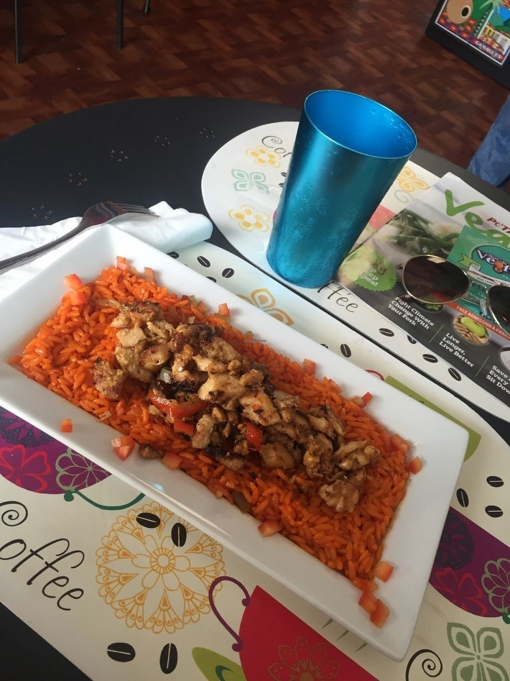 """Photo of Equelecua Cuban Cafe  by <a href=""""/members/profile/MissCindyPants"""">MissCindyPants</a> <br/>Arroz con Pollo! perfection, a blast of flavor! <br/> July 25, 2016  - <a href='/contact/abuse/image/59617/162301'>Report</a>"""