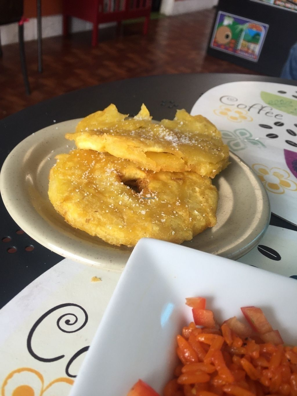 """Photo of Equelecua Cuban Cafe  by <a href=""""/members/profile/MissCindyPants"""">MissCindyPants</a> <br/>Tostones double friend unripe (savory) plantains. Soooooo GOOOOOOD!  <br/> July 25, 2016  - <a href='/contact/abuse/image/59617/162302'>Report</a>"""
