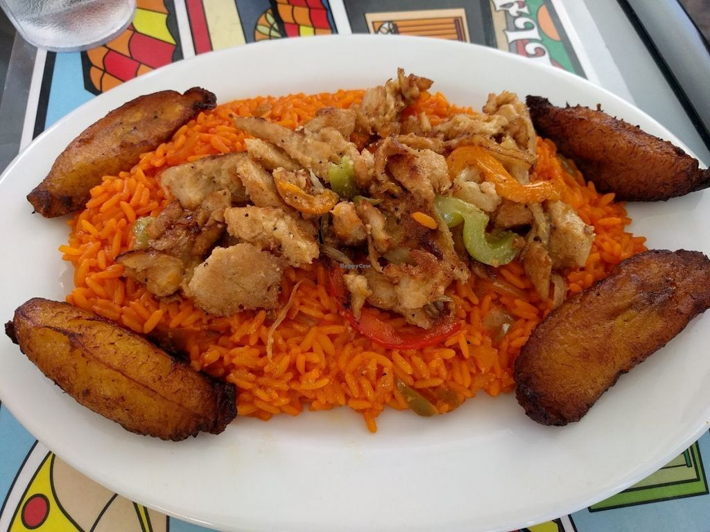 """Photo of Equelecua Cuban Cafe  by <a href=""""/members/profile/Sonja%20and%20Dirk"""">Sonja and Dirk</a> <br/>arroz con pollo <br/> July 26, 2016  - <a href='/contact/abuse/image/59617/162538'>Report</a>"""