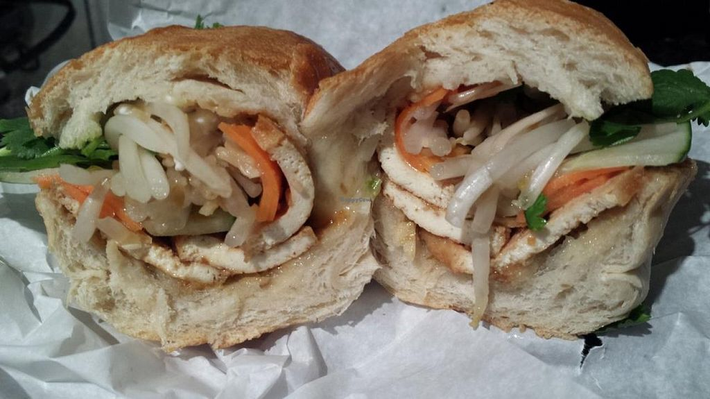 "Photo of Lucy's Vietnamese Kitchen  by <a href=""/members/profile/TaraJaden"">TaraJaden</a> <br/>Lemongrass Tofu Banh Mi <br/> June 19, 2015  - <a href='/contact/abuse/image/59624/106542'>Report</a>"