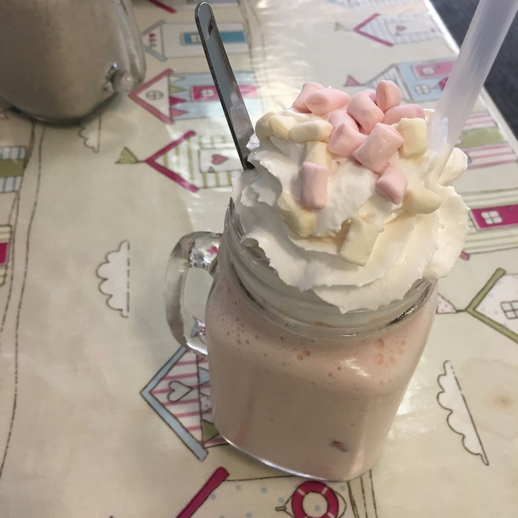 "Photo of Blondes  by <a href=""/members/profile/romyhoskin"">romyhoskin</a> <br/>vegan strawberry milkshake  <br/> June 2, 2017  - <a href='/contact/abuse/image/59631/265107'>Report</a>"